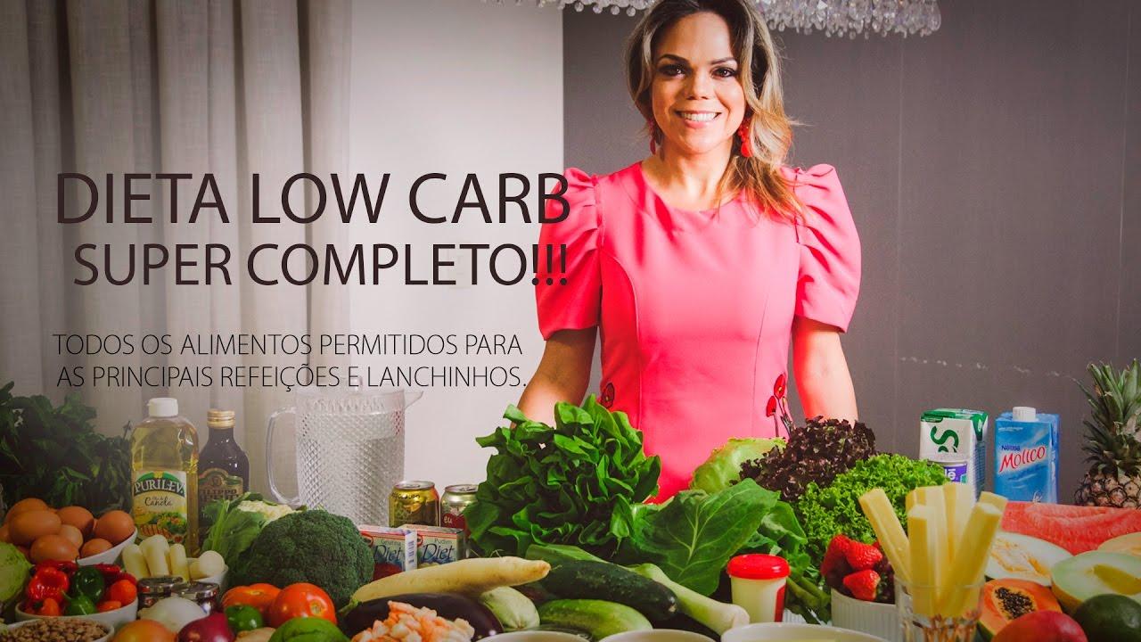 dieta completa low carb
