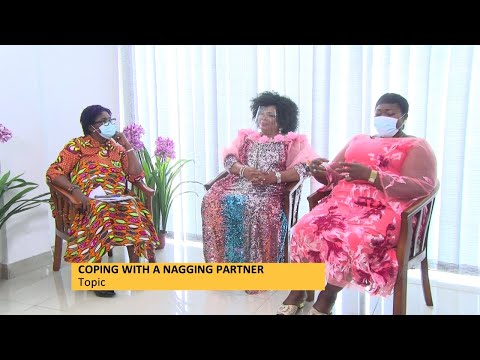 Coping with a Nagging Partner - Awaresem on Adom TV (10-5-21)