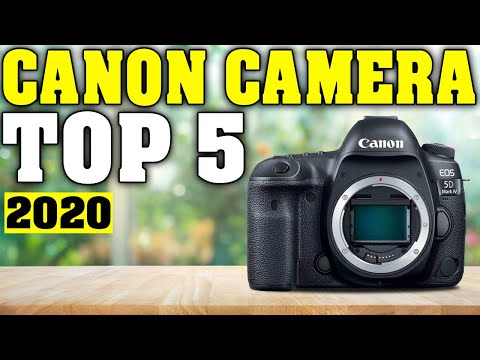 TOP 5: Best Canon Camera 2020