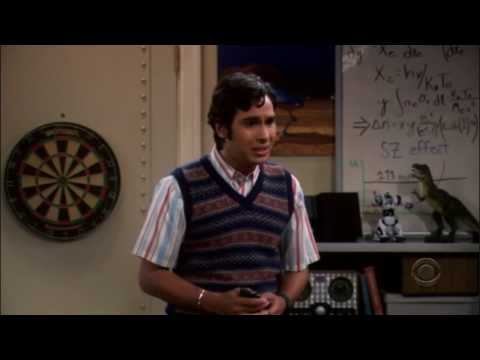 The Big Bang Theory-Howard's Indian Accent[HD]