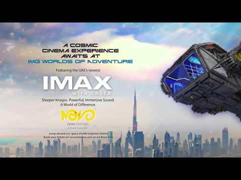 Novo Cinemas NOW OPEN at IMG Worlds of Adventure