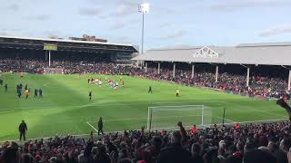 Ole's at the wheel - Manchester United - away at Fulham 9th Feb '19