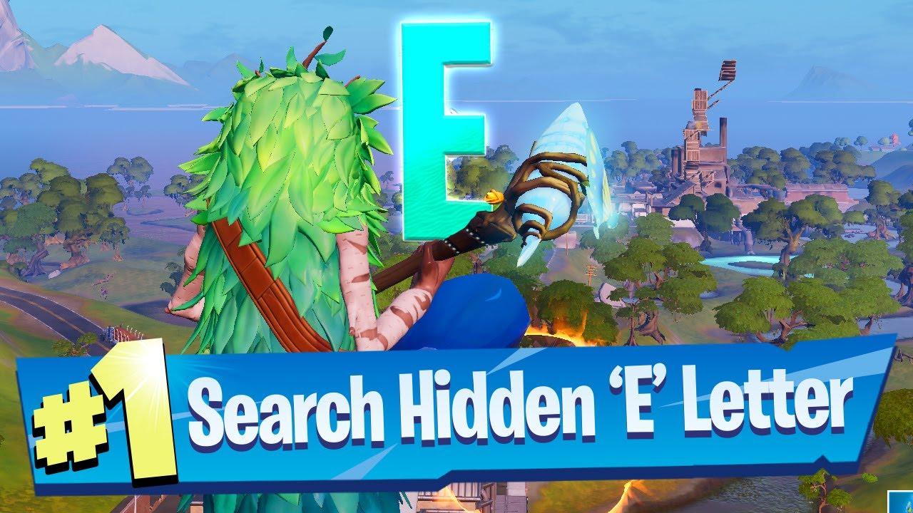 Search Hidden E Found In The Dive Loading Screen Fortnite Battle Royale