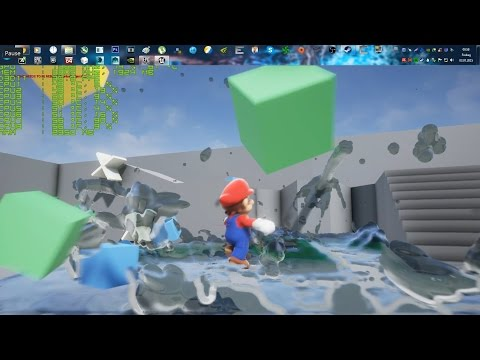 Unreal Engine 4 [4.8] Super Mario / Nvidia Flex Techdemo + Download link