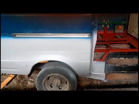Правильный кап ремонт кузова микроавтобуса Газель. Теперь как на БТРе!