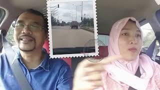 Cara trik menghitung jarak aman dengan mobil di depan kita by kursus stir WIDI MANDIRI