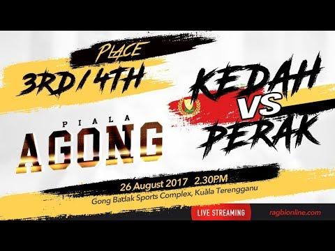 PIALA AGONG (2017)   3RD & 4TH PLACE   KEDAH VS PERAK