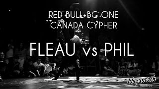 Finals - FLEAU vs PHIL | RED BULL BC ONE CYPHER CANADA 2015 | BBOY NORTH