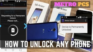 How to unlock a Metro PCS phone to use with any company