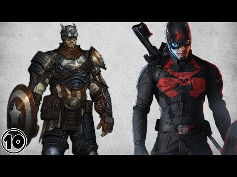 Top 10 Alternate Versions Of Captain America