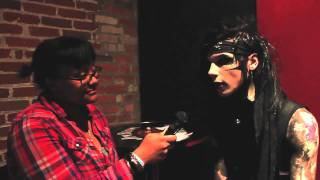 Interview with Andy 6 from Black Veil Brides