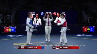 Roma 2018 world taekondo final (female) - Taekwondo - taekwondo fight -  taekwondo fight