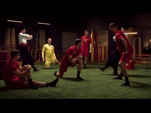 Coca-Cola supporte les Diables Rouges pendant la Coupe du Monde. Êtes-vous prêts ?
