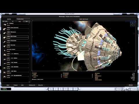 Galactic Civilizations II Custom ship design part 1