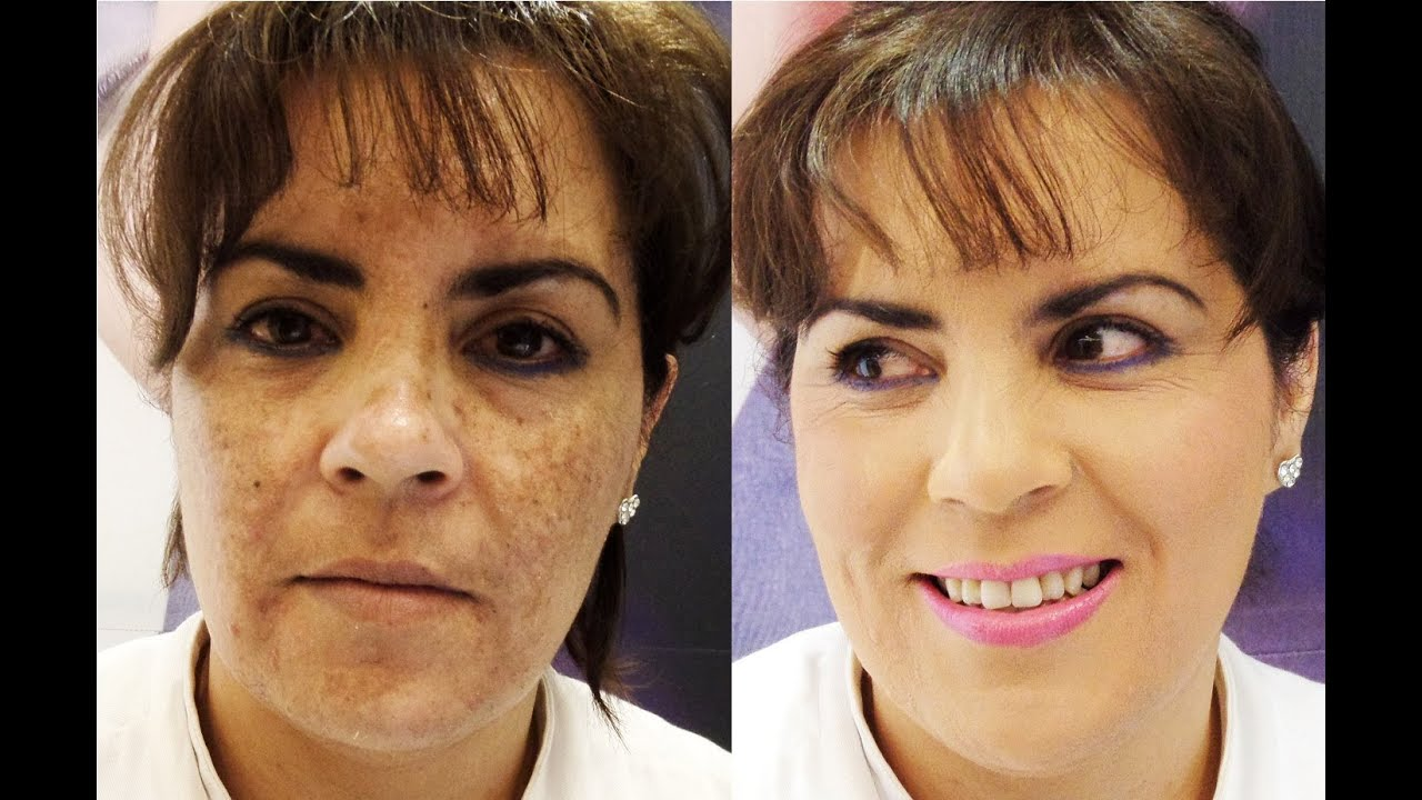 maquillaje para manchas oscuras