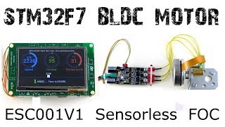 Stm32f746 discovery video clip