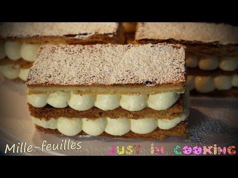 recette-de-mille-feuilles-à-la-vanille