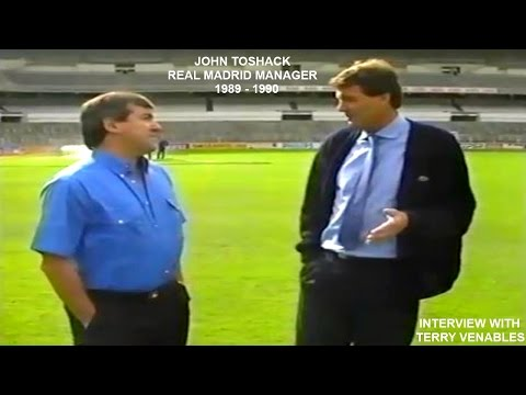 JOHN TOSHACK - REAL MADRID MANAGER - 1989-90 - INTERVIEW WITH TERRY VENABLES -MADRID-SPAIN - PART 1
