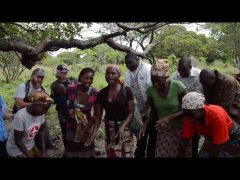 3  Mozambique    Church Members Song & Praise at Bike Presentation 11 12 13