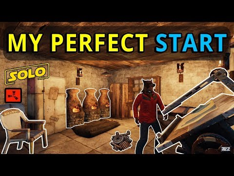 RUST SOLO: The Story Of My PERFECT START (Ep1) thumbnail