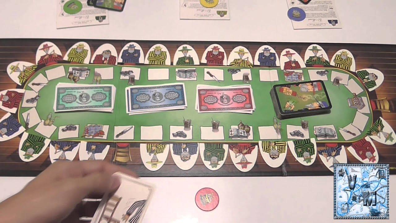 El padrino juego de mesa rese a aprende a jugar youtube for Viciados de mesa