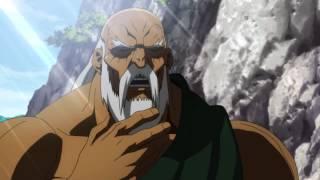 Gouken teaches Ryu & Ken Shoryuken