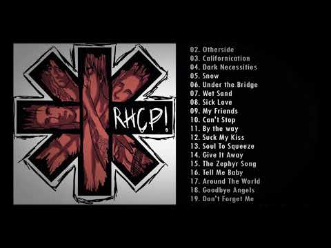 Red Hot Chili Peppers Greatest Hits 2021 RHCP