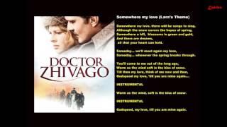 Karaokê - Somewhere My Love (Tema de Lara, do Filme Dr. Jivago)