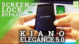 Hard Reset KIANO Elegance 5.0 - How to Remove Password in KIANO