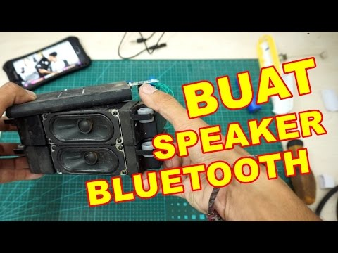 Membuat Speaker Bluetooth Murah VLOG68