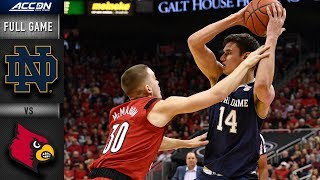 Notre Dame vs. Louisville Condensed Game | 2018-19 ACC Basketball