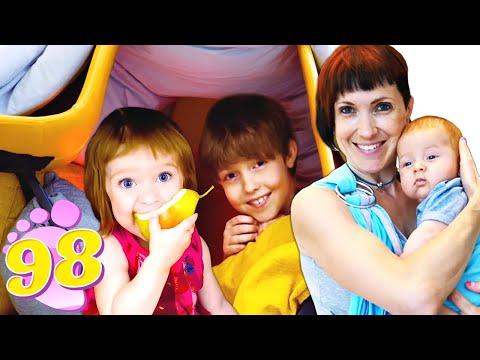 Домик Бьянки - Привет, Бьянка и Адриан строят домик - Игры для детей