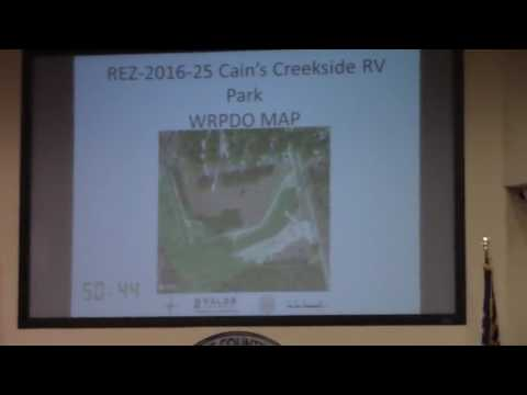 6g. REZ-2016-25 Cain's Creekside RV Park, 6143 US Hwy 41 North PD-R