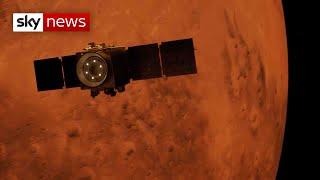 UAE's Hope probe successfully enters Mars orbit
