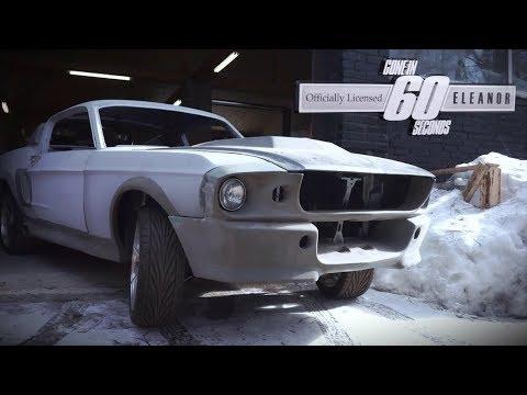 Нашли ELEANOR из Угнать за 60 Секунд в МОСКВЕ! Shelby GT500!