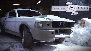 Eleanor GT500 Barnfind in Moscow!