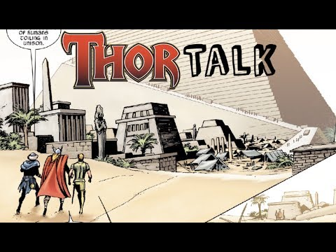 Thor Talk: Why Thor talks like Shakespeare and Thor goes to Ancient Egypt