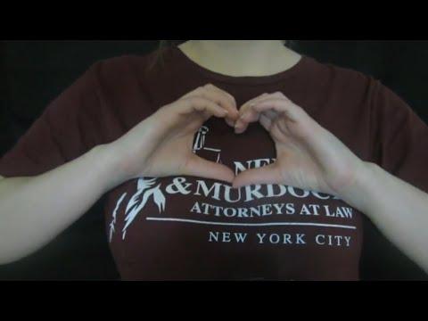 ASMR Daredevil TShirt Scratching / Shirt Rubbing