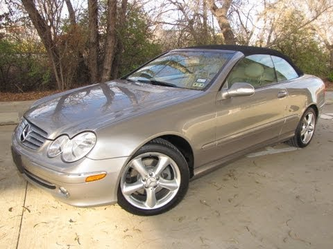 For sale 2005 mercedes benz clk 320 convertible youtube for Mercedes benz clk500 for sale