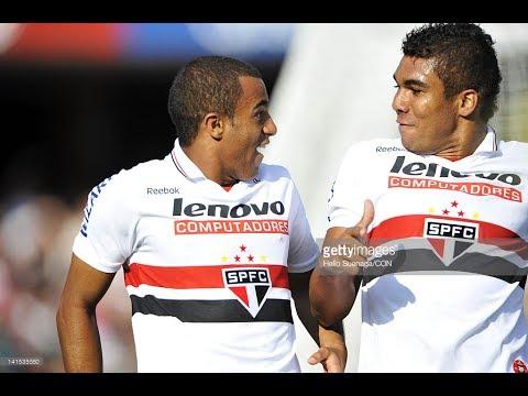 TODOS OS 11 GOLS DE CASEMIRO PELO SÃO PAULO F.C