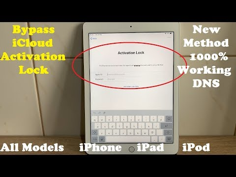 Factory Unlock iCloud Locked iPhone And Remove/Bypass iCloud Account iPad Any iOS✔️