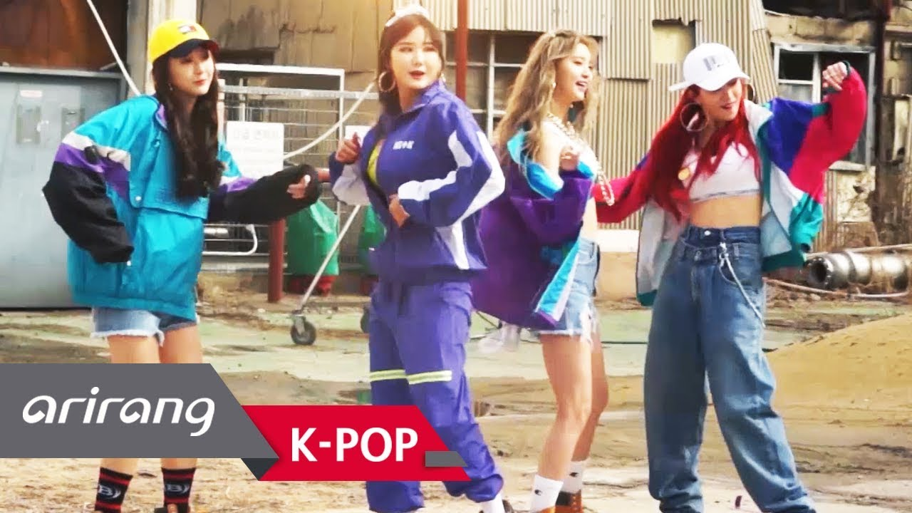 [Pops in Seoul] They are back in retro style! EXID(이엑스아이디)'s LADY(내일해) _ MV  Shooting Sketch