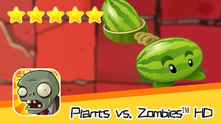 Plants vs  Zombies™ HD ROOF Level 09 Day1 Walkthrough The zombies are coming! Recommend index five s