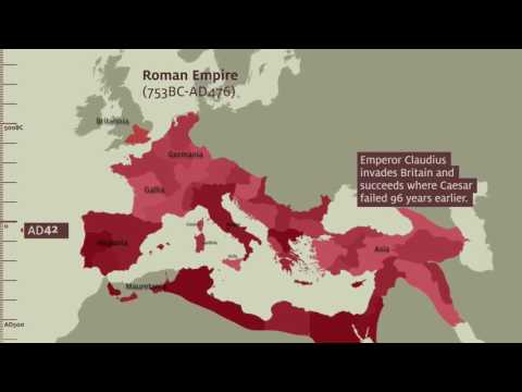 Roman Army Museum – Empire Map
