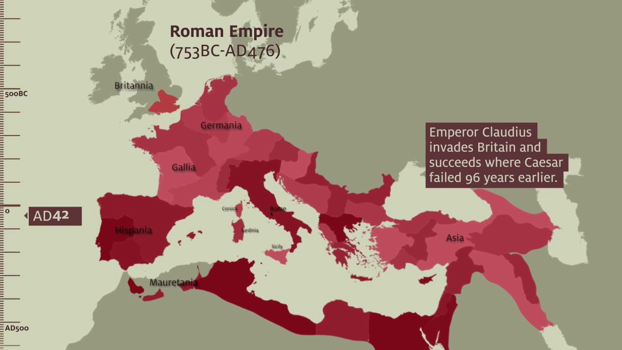 roman army museum  u2013 empire map