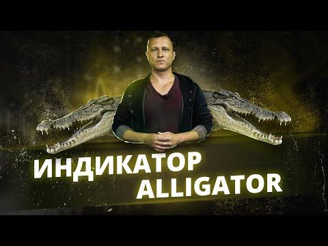 Индикатор Аллигатор Alligator. Смотрите индикатор Аллигатор Б. Вильямса Торговый Хаос (profitunity)