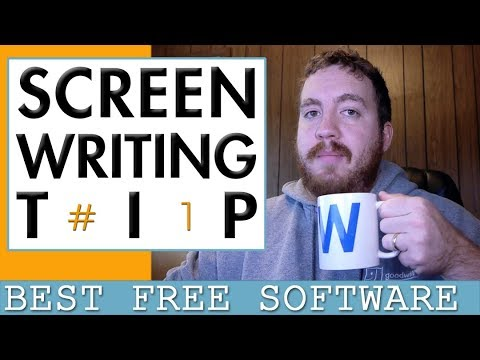 Screenwriting Tip #1 Best Free Screenwriting Software: Amazon Storywriter