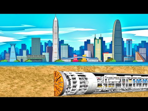 The Longest Underwater Tunnel | China's Future MEGAPROJECTS: