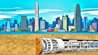 The Longest Underwater Tunnel | China's Future MEGAPROJECTS: Part 5