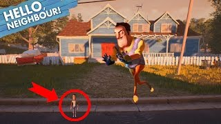 DEVENIR MINUSCULE ET UN PASSAGE SECRET ?! - Hello Neighbor #1